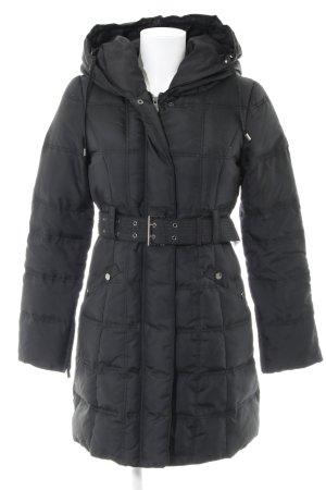 Zara Woman Winterjacke schwarz Casual-Look