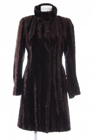 Zara Woman Wintermantel braunrot Elegant
