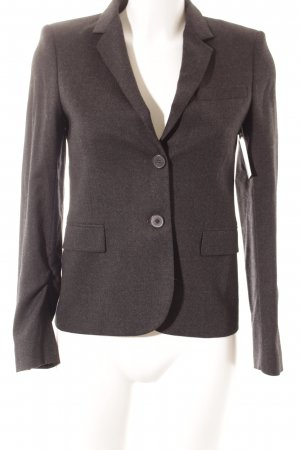 Zara Woman Woll-Blazer anthrazit Business-Look