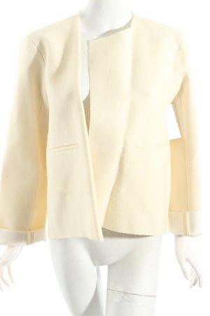 Zara Woman Woll-Blazer creme Urban-Look