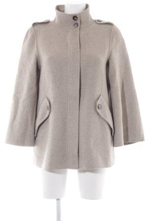 Zara Woman Wolljacke creme Casual-Look