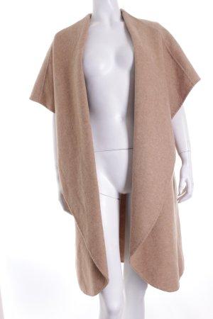 Zara Woman Wollmantel camel schlichter Stil