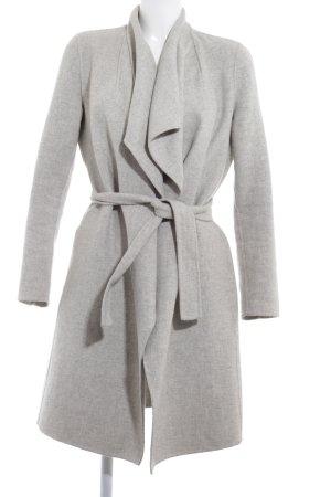 Zara Woman Abrigo de lana gris claro estilo «business»