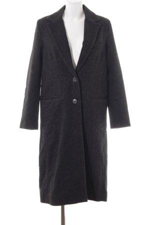 Zara Woman Manteau en laine moucheté style des années 90