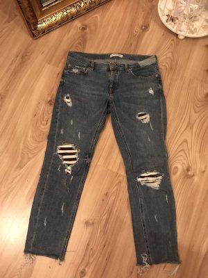 Zara women 7/8 jeans