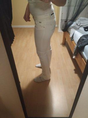 ZARA Women Jeans weiß