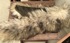 Zara XL Fellkragen für Parka Kunstfell Fake Fur