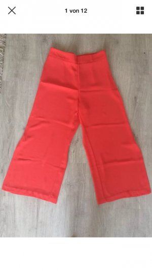 Zara 3/4 Length Trousers salmon-bright red