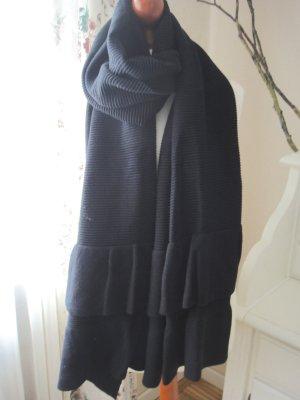 Zara XXL Schal mit Volants neuwertig