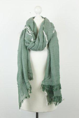 Zara Foulard blanc-kaki