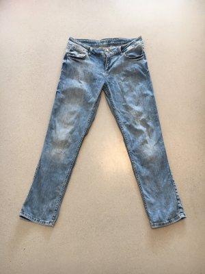 Zara z1975 helle Jeans 38 boyfriend 3/4
