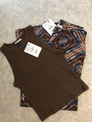 Zara Zweiteiler Culotte & Shirt L