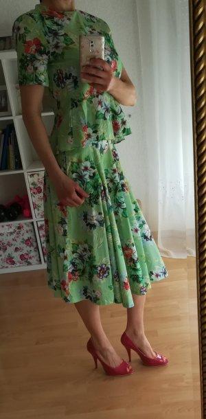Zara Plaid Skirt multicolored