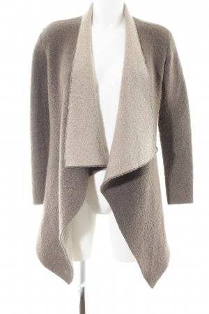 ZARAKNIT Knitted Coat bronze-colored-natural white casual look