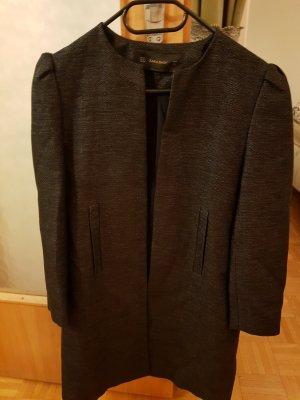 Zara Basic Gabardina tipo vestido negro
