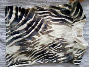 ZaraT-Shirt Zebra optik Bluse 38