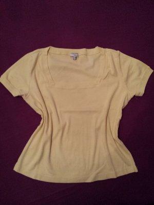 zart gelbes T-Shirt von Heine, Gr. 44 / 46