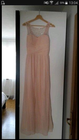zart rosa farbendes Abendkleid zu verkaufen