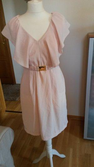 zart rosa farbenes Kleid von H&M in Größe 38