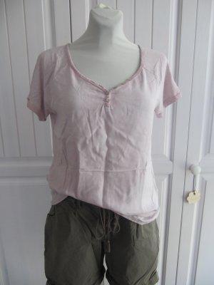 Zart-rosafarbenes T-Shirt von STREET ONE, Gr. 40, neuwertig