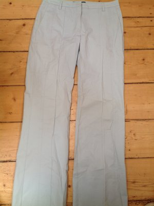 Marc Cain Marlene Trousers baby blue mixture fibre