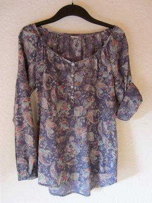 Zarte Bluse mit Paisley-Muster - Größe 34/36