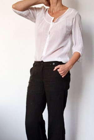 Zarte Bluse von #American Vintage# Gr. S  (34-36)