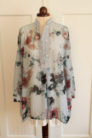 Zarte Oversize-Bluse von Religion mit Blumenmuster