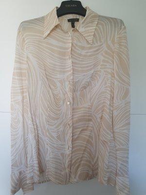 Zarte taillierte Bluse aus 100% Seide von Escada