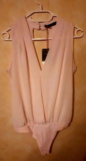 Vogue Blusa tipo body rosa