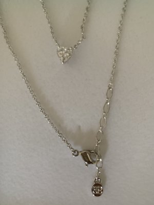 Pierre Lang Collier Necklace silver-colored-white