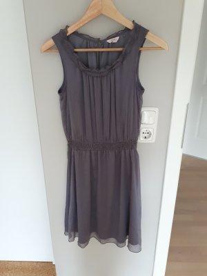 Esprit Chiffon jurk lichtgrijs
