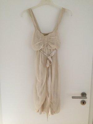 Zartes Kleid von King Kong, champagnerfarben, Gr. M