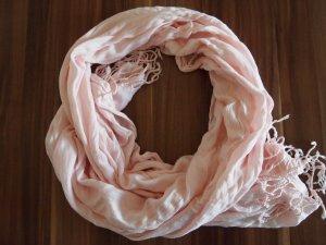 Pashmina vieux rose coton