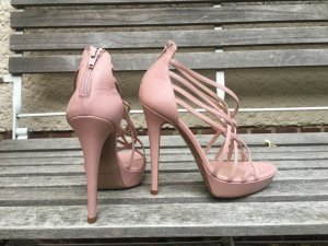 Zartes Rose   nude high heels