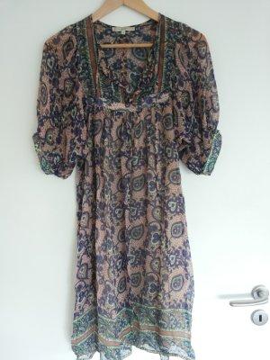 Zartes, Süßes Boho Hippie Seiden Kleid