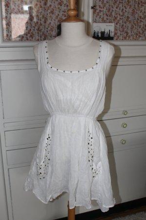 zartes Yumi-Sommerkleidchen mit Nieten, Layerlook, Gr. M