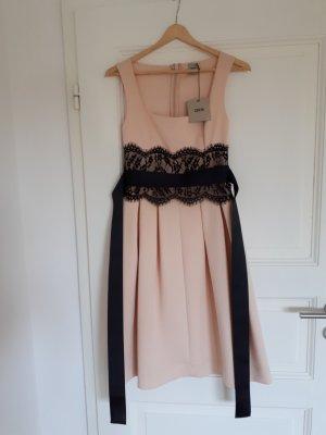 Asos Cocktail Dress pink-black polyester