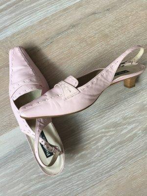 Paul Green Slingback pumps rosé Leer