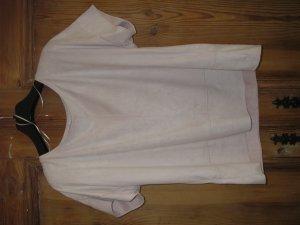 zartrosèfarbenes T-Shirt
