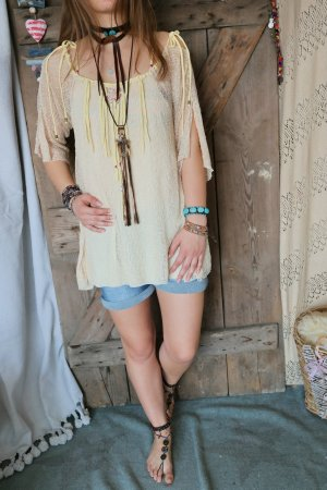 Zauberhafte boho hippie tunika kalissi ibiza