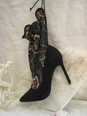 Zauberhafte Zara Sexy City High Heels Stiefeletten Stilettos 10 cm Top Neu