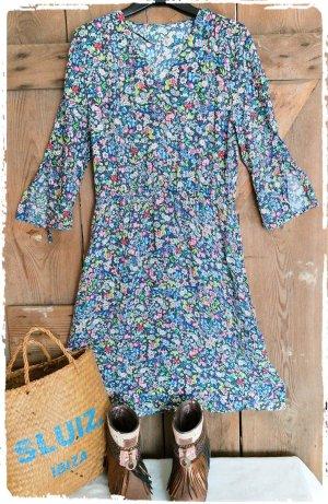 Zauberhaftes Boho Hippie Ibiza Kleid