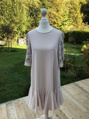 needle & thread Robe à paillettes rosé-argenté