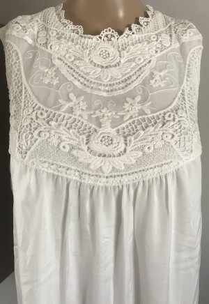 BPC Selection Premium Robe en dentelle blanc-blanc cassé