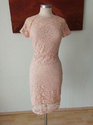Mango Shortsleeve Dress nude