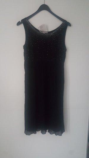 zauberhaftes Plissé-Kleid mit Perlentop