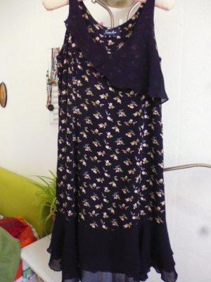 Simclan Volante jurk veelkleurig Viscose