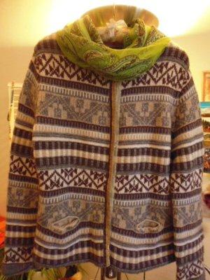 Zaubermasche Veste en tricot multicolore cachemire