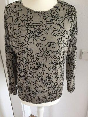 Crewneck Sweater grey brown